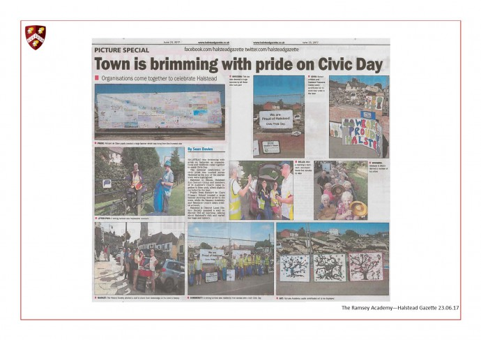 Civic Day - Halstead In Bloom 23.06.17