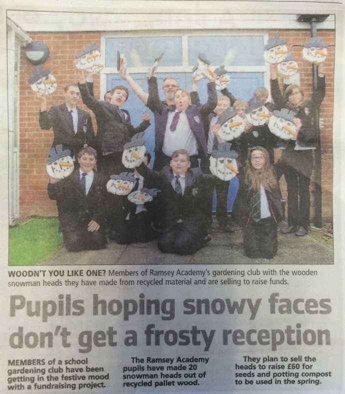 Snowy Faces