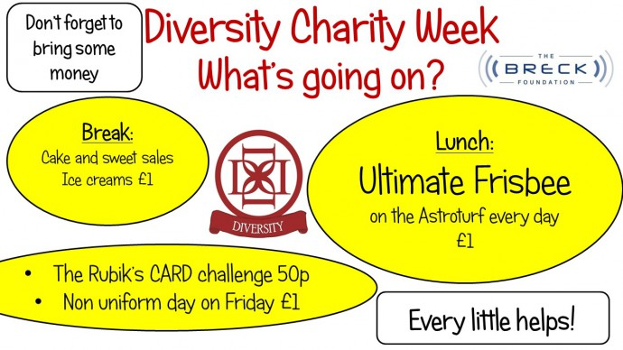 Diversity Charity Week 24 - 28 April