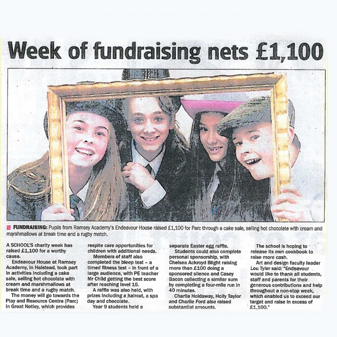 Week of fundraising nets £1,100