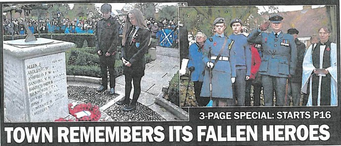 Town remembers its fallen