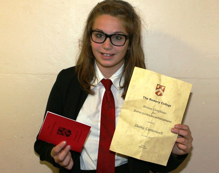 Extra-Curricular Bronze Award