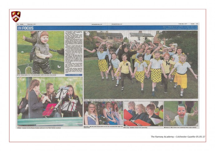 Colchester Gazette May Day in the Park 05.05.17